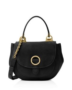 Micheal Kors suede-leather black purse